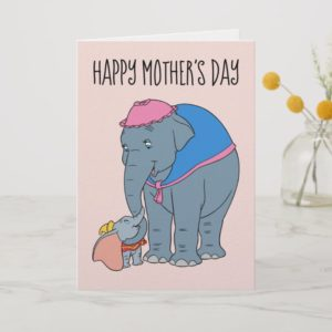 Dumbo and his Mother | Mother's Day Card