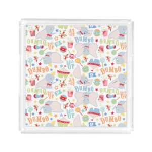 Dumbo and Timothy Roll Up Pattern Acrylic Tray
