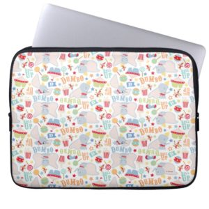 Dumbo and Timothy Roll Up Pattern Computer Sleeve