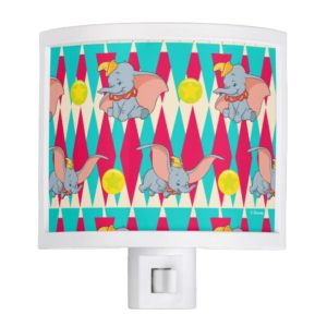 Dumbo Bright Circus Pattern Night Light