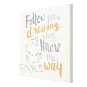 Dumbo | Follow Your Dreams Canvas Print