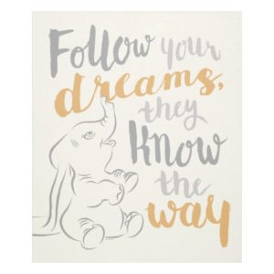Dumbo | Follow Your Dreams Fleece Blanket