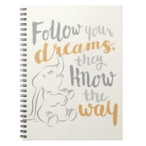 Dumbo   Follow Your Dreams Notebook