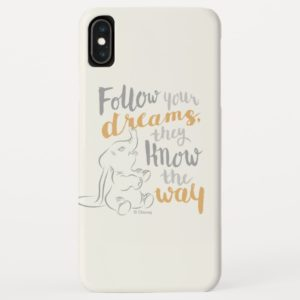 Dumbo | Follow Your Dreams Quote Case-Mate iPhone Case