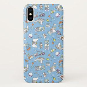 Dumbo | Fun Little Blue Pattern Case-Mate iPhone Case