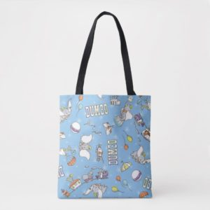 Dumbo | Fun Little Blue Pattern Tote Bag