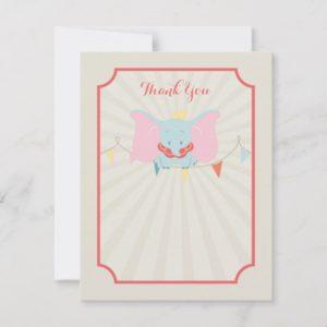 Dumbo | Girl Baby Shower Thank You