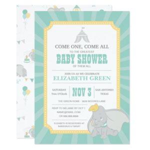 Dumbo | Neutral Baby Shower Invitation