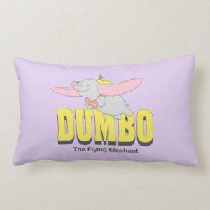 Dumbo the Flying Elephant Lumbar Pillow