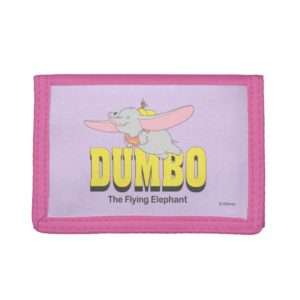 Dumbo the Flying Elephant Trifold Wallet