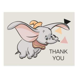Dumbo Tribal Design | Thank You Postcard
