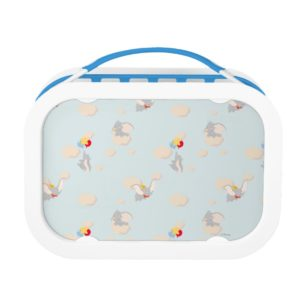 Dumbo up in the Clouds Pattern Lunch Box