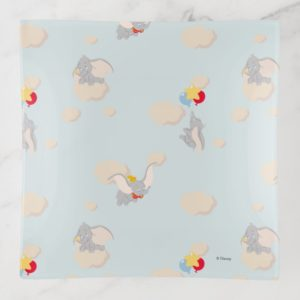 Dumbo up in the Clouds Pattern Trinket Trays