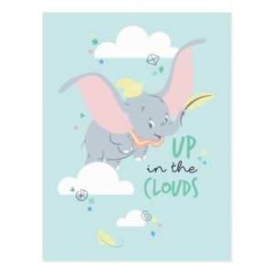 Dumbo | Up in the Clouds Postcard
