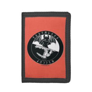 Duo Toothless & Hiccup Icon Trifold Wallet