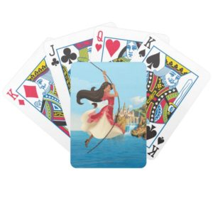 Elena   Adventure Awaits Bicycle Playing Cards