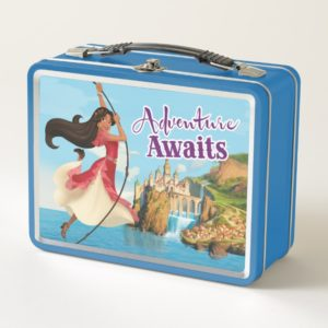 Elena | Adventure Awaits Metal Lunch Box