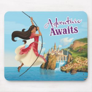 Elena | Adventure Awaits Mouse Pad