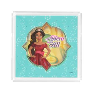 Elena & Isabel | A Hero To Us All Acrylic Tray