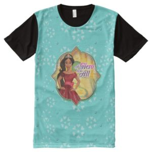 Elena & Isabel   A Hero To Us All All-Over-Print T-Shirt