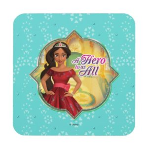 Elena & Isabel | A Hero To Us All Beverage Coaster