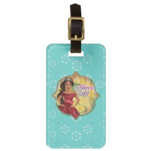 Elena & Isabel | A Hero To Us All Luggage Tag