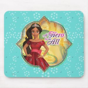 Elena & Isabel | A Hero To Us All Mouse Pad