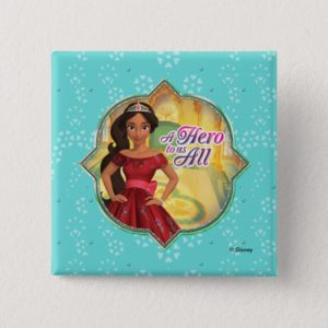 Elena & Isabel | A Hero To Us All Pinback Button