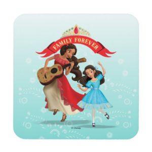 Elena & Isabel | Sister Time Beverage Coaster