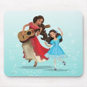 Elena & Isabel | Sister Time Mouse Pad