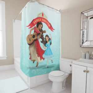 Elena & Isabel | Sister Time Shower Curtain