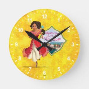 Elena   Protector of the Kingdom Round Clock