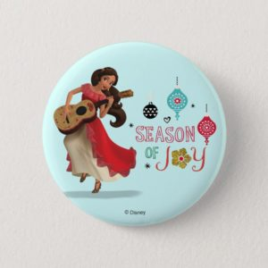 Elena | Season of Joy Pinback Button