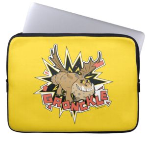 Explosive Gronkle Graphic Computer Sleeve