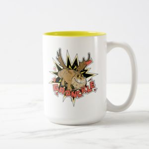 Explosive Gronkle Graphic Two-Tone Coffee Mug