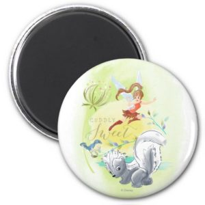 Fawn With Animals: Cuddly Sweet 2 Magnet