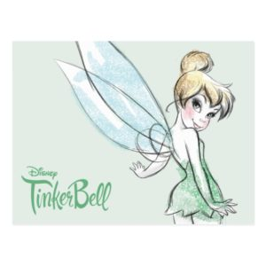 Fearless Tinker Bell Postcard