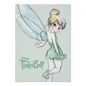 Fearless Tinker Bell Poster