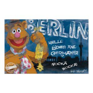 Fozzie Bear - Berlin, Germany Poster