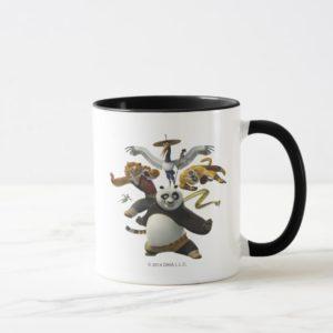 Furious Five Pose Mug