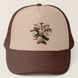 Furious Five Pose Trucker Hat