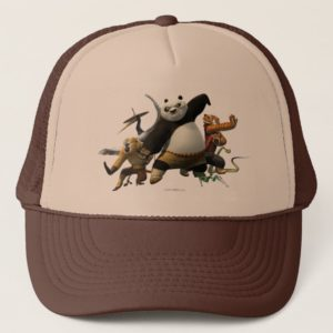 Furious Five Stacked High Trucker Hat