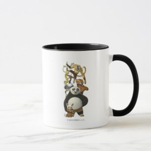 Furious Five Stacked Mug
