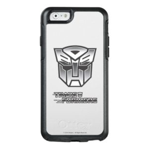 G1 Autobot Shield BW OtterBox iPhone Case
