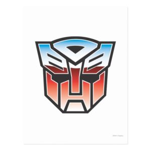 G1 Autobot Shield Color Postcard