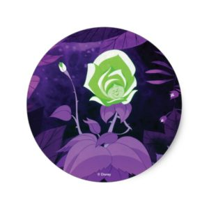 Garden Flower Film Still Classic Round Sticker