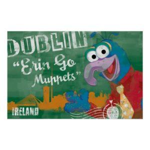 Gonzo - Dublin, Ireland Poster
