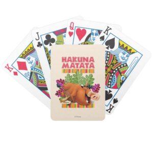 Hakuna Matata Bicycle Playing Cards