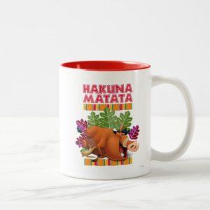 Hakuna Matata Two-Tone Coffee Mug