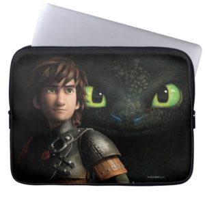 Hiccup & Toothless Computer Sleeve